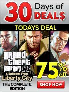 GTA IV Complete Edition - Digital Download For PC - £6.25 (£5 with KAPOW code) @ Direct 2 Drive