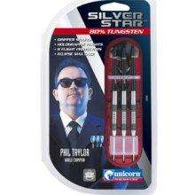 Phil Taylor Silver Star 80% Tungsten Darts - £3 @ Tesco Direct