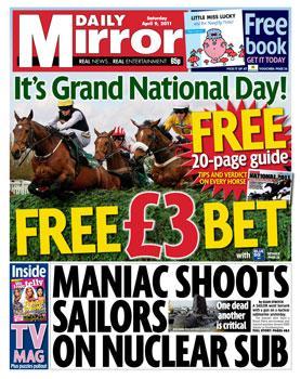 Saturday newspaper offers - see post - Mail/ Telegraph/ Star/ Express/ Mirror/ Times/ Sun