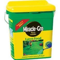 Miracle-Gro Water Soluble Lawn Food 2kg amazon £7.99