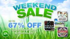 EA Weekend iPhone/iPod Touch Sale (Up to 67% off)
