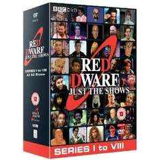 Red Dwarf: Just The Shows:  Series 1-8 (DVD) - £20.23 @ Amazon