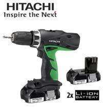 Hitachi 18v li-ion combi drill  £89 @ B&Q  (£71.20 with discount  if you spend over £100 )