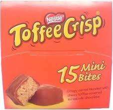Nestle Toffee Crisp Mini Bites (15) £1 @ Poundland