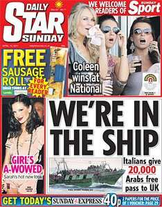 Sunday Newspaper Offers - See Post -  Mirror/ Mail/ Star/ Telegraph/ Express/ NOTW