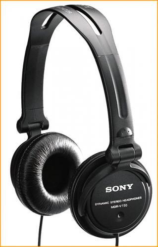 Sony MDR V150 Headphones (Black) - £8.99 @ Play