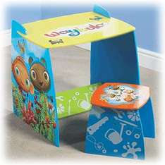 Waybuloo Desk & Stool - Was £49.99 Now £9.99 + £1.99 Postage @ Mail Order Express (+ 5% Quidco)