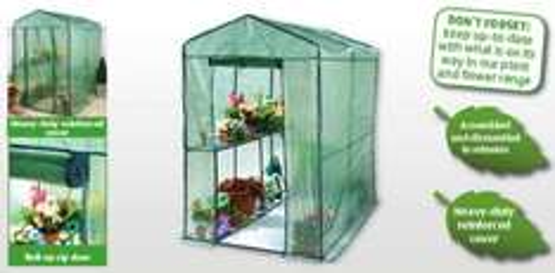 Large Walk-in Greenhouse - Aldi £32.99