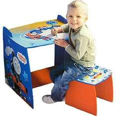 Thomas Desk & Stool - Was £49.99 Now £14.99 + £1.99 Postage @ Mail Order Express