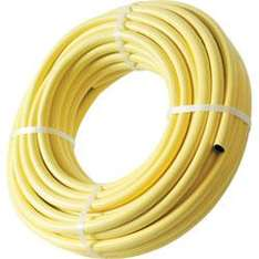 """Reinforced yellow PVC Water Hose 30m x 1/2"""" £11.54 delivered @ Toolstation"""