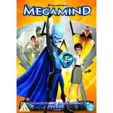 Megamind (DVD) - Only £8.47 (with code) @ Tesco Entertainment