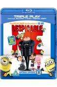 Despicable Me - Triple Play (Blu-ray + DVD + Digital Copy) - £12.74 (with code) @ Tesco Entertainment