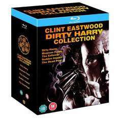 Dirty Harry Box Set: Dirty Harry / Magnum Force / The Enforcer / Sudden Impact / The Dead Pool (Blu-ray) - £15.97 Delivered @ Amazon