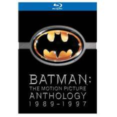 Batman: The Motion Picture Anthology (1989-1997) (Blu-ray) (4 Disc) - £14.77 Delivered @ Amazon