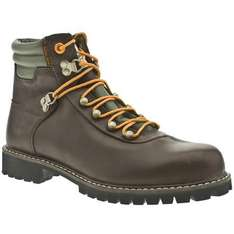 Timberland Newmarket Mens Brown Leather Boots - Was £99.99 Now £39.99 + £4.99 Postage @ Ebay Schuh Outlet