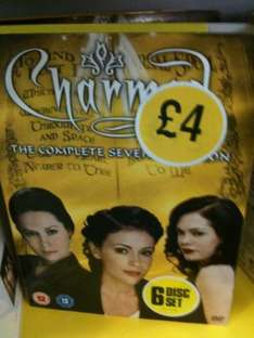 Charmed: Season 7 (DVD) - Just £4 @ WH Smith (Instore)