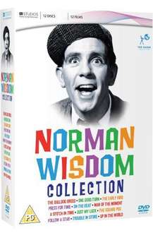 The Norman Wisdom Collection Box Set (DVD) (12 Disc) - £14.97 Delivered @ Amazon
