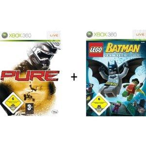 Pure & Lego Batman Double Pack (Xbox 360) - £6.99 @ Amazon
