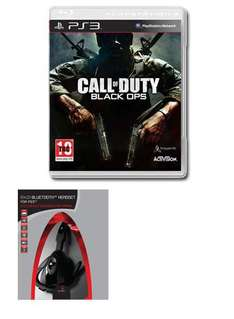 Call of Duty: Black Ops with Gioteck Bluetooth Wireless Headset (PS3) - £49.98 @ Game