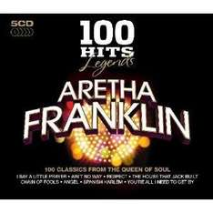 100 Hits Legends: Aretha Franklin (5 CD Box Set) - Only £4.93 Delivered @ Amazon