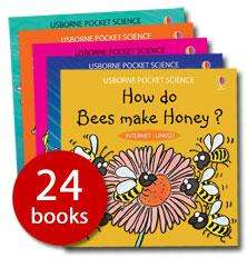 Usborne Pocket Science Collection (24 Books) (Paperback) - £9.99 @ The Book People
