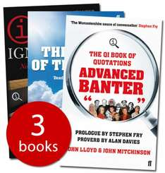 The QI Collection (3 Books) - RRP £26.97 only £4.99 delivered @ The Book People