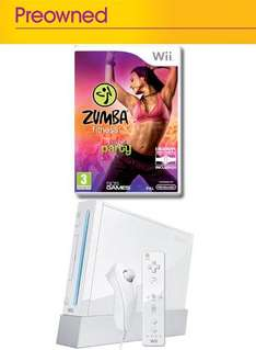 Nintendo Wii Console with New Zumba Fitness (Pre-owned) - £64.99 Delivered @ Game