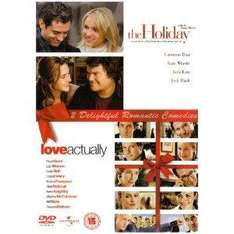 2 Film Box Set: The Holiday / Love Actually (DVD) - £4.49 @ Amazon & Play
