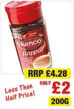 Kenco Rapport Coffee 200g was £4.29 now £2.00 @ Netto