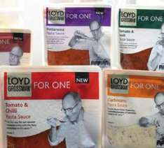 Loyd Grossman pasta sauces 'for one' - Two for £1 (or 59p each) @ B&M