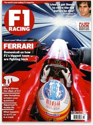 6 Issues of F1 Racing Magazine + Free McLaren Cap (worth upto £25) - £22 @ The Magazine Shop