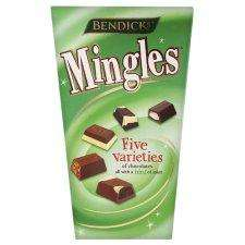 Bendicks Mingles 330G Net Excluding Wraps was £4.07 now £2.03 @ Tesco