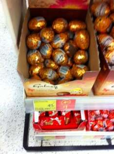 Galaxy Chocolate Caramel Eggs 41p each or 4 for £1 @ Asda instore