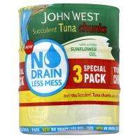 John West No Drain Tuna 6 cans for £3 at ASDA Instore and online