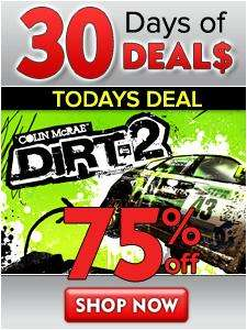 DiRT 2 (PC) - £3.75 @ Direct 2 Drive