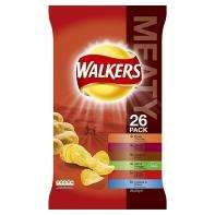 Walkers 26pk £4.37 or 2 for £5 @ Asda