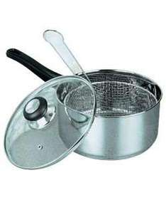Cookworks 4 Litre Stainless Steel Chip Pan - £5.98 Delivered @ eBay Argos Outlet (£4.99 If You Can Find Stock!) @ Argos
