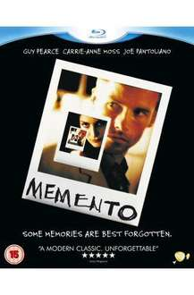 Memento (Blu-ray) - £8.25 Delivered @ Amazon & HMV