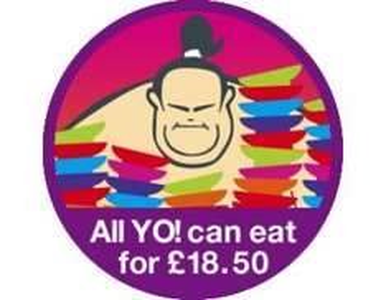 Yo Sushi Super Sumo Sunday - Oxford Circus £18.50