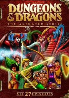 Dungeons & Dragons: The Complete Series (DVD) (4 Disc) - £5.89 + £1.99 Postage @ Sendit
