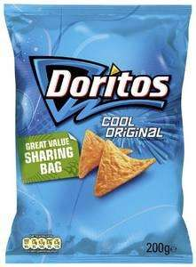 Doritos big 'share' size 200g pack - Cool Original (possibly other flavours) ONLY 39p a pack @ B & M