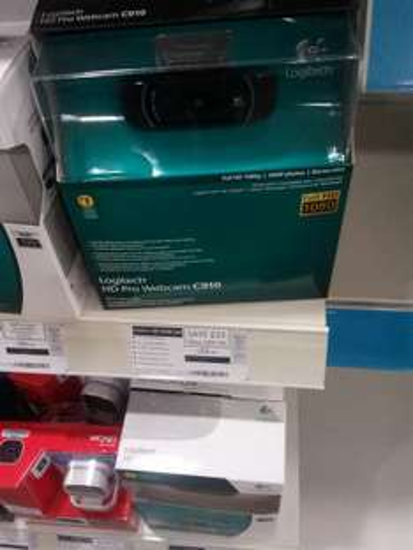 Logitech C910 HD Web Cam - £54.99 @ Comet