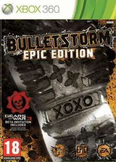 Bulletstorm: Epic Edition (Xbox 360) -  £24.99 @ Gamestation