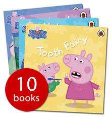 Peppa Pig Collection - (10 Books) - £9.99 @ The Book People