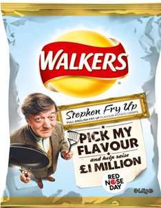Walkers Stephen Fry-Up Crisps bag - 5p @ Superdrug, Headingley, Leeds