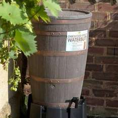 Oakwood Water Butt - 120 litre  £44.99 @ Green Fingers. Next cheapest was £49 @ Tesco but out of stock