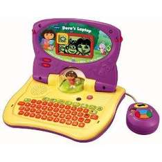 New Vtech Dora Carnival Time Laptop - £14.99 + £1.99 Postage @ eBay Argos Outlet