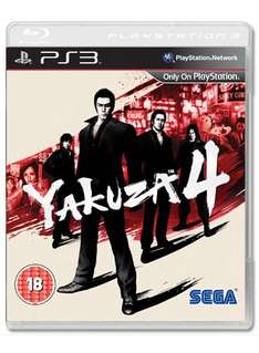 Yakuza 4 (PS3) - £17.98 @ Game