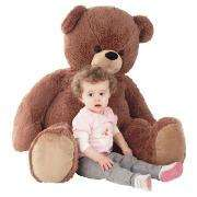Tesco Cuddle Me Giant Bear was £30 NOW £7.50 Or Use your clubcard points