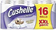 Cushelle Bog Roll (16 Pack) - £5 (£4.50 with Voucher) @ Morrisons